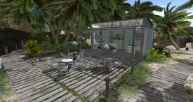 Frozen Banana Bar, looking SSW (05-15)