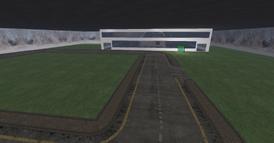 DT Regional Skyport terminal, subway parking view