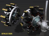 YKS-7 radial engine