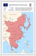 Association of East Asia Map