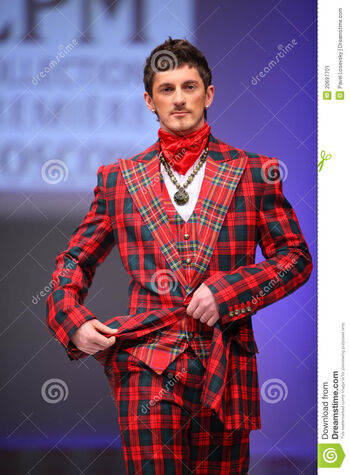 Man-wear-checkered-suit-slava-zaytzev-20697701