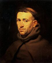 Rubens pieter paul head of a franciscan monk co by sikkabo-d9144p3
