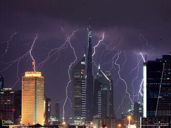 Thunder city by sketchupae