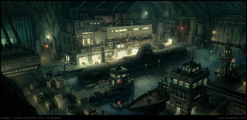 Submarine by penemenn-d3decxy