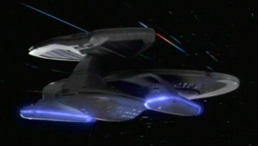 USS Prometheus at warp, Second Sight