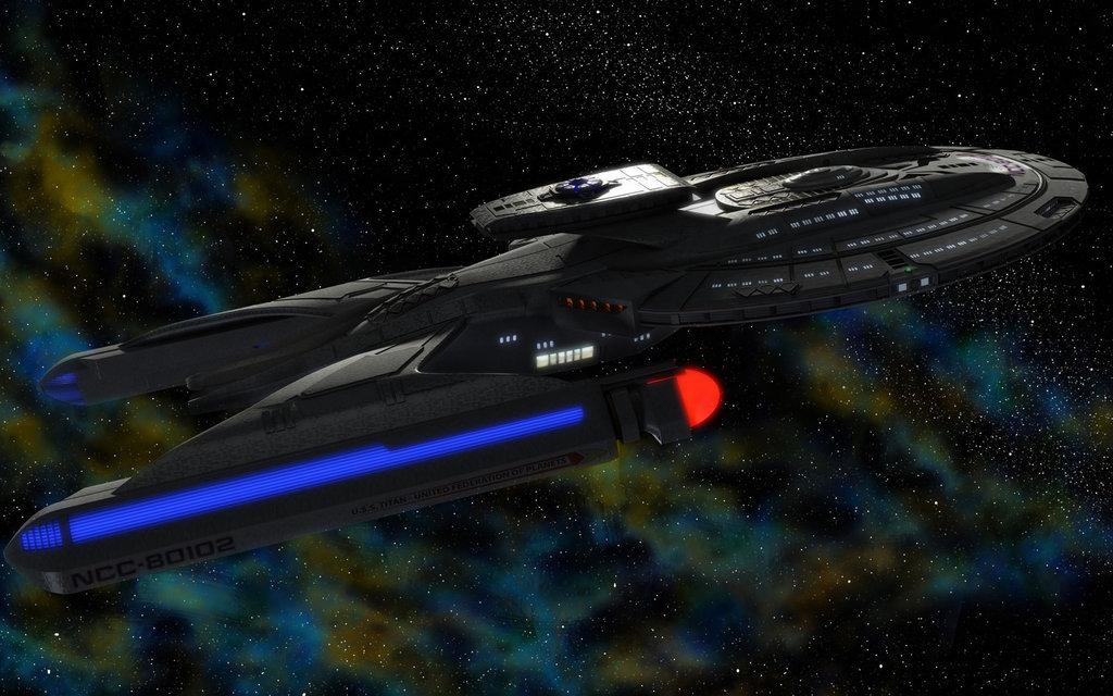 Luna class starship