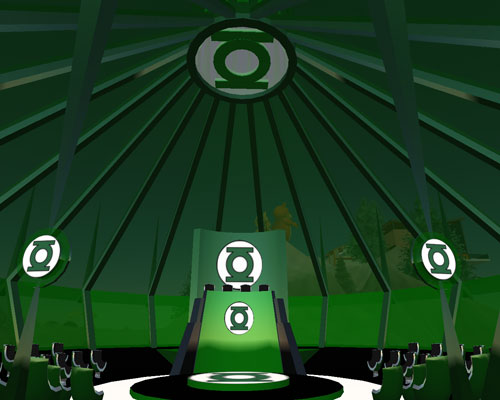 The Green Lantern Corps Headquarters Second Life Wiki Fandom