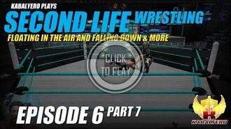 Floating In The Air And Falling Down & More ★ Second Life Gameplay E6P7 Second Life Wrestling
