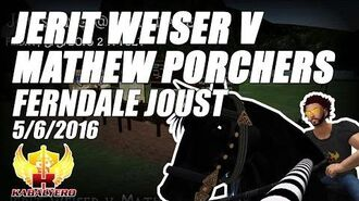 Jousting In Ferndale (5 6 2016) ★ Jerit Weiser v Mathew Porchers ★ Second Life Jousting