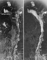 Stava Dam Aerial Photos