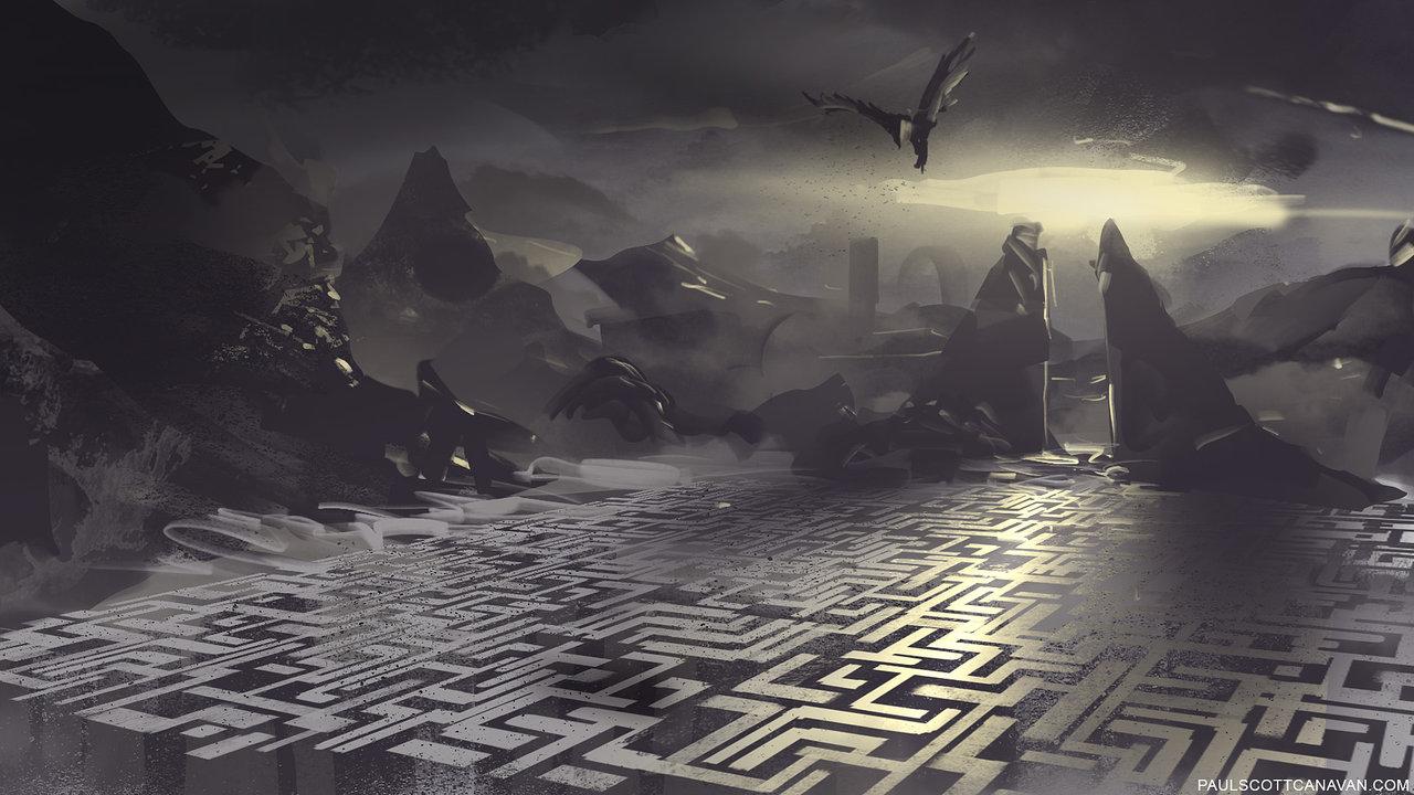 Image result for giant maze fantasy
