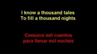 1001 nights (POP VERSION) TWISTED (lyrics sub español)