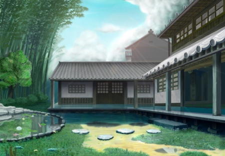 yahikova kuca Modern-japanese-house-animejapanese-house---other-anime-background-wallpapers-on-desktop-1tdamsqx