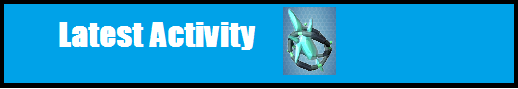 Latest activity banner