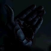 Demons in Eben's hand