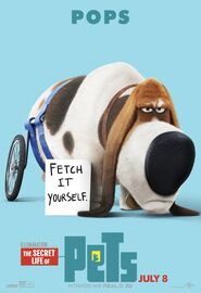 Secret Life of Pets Character Poster 4