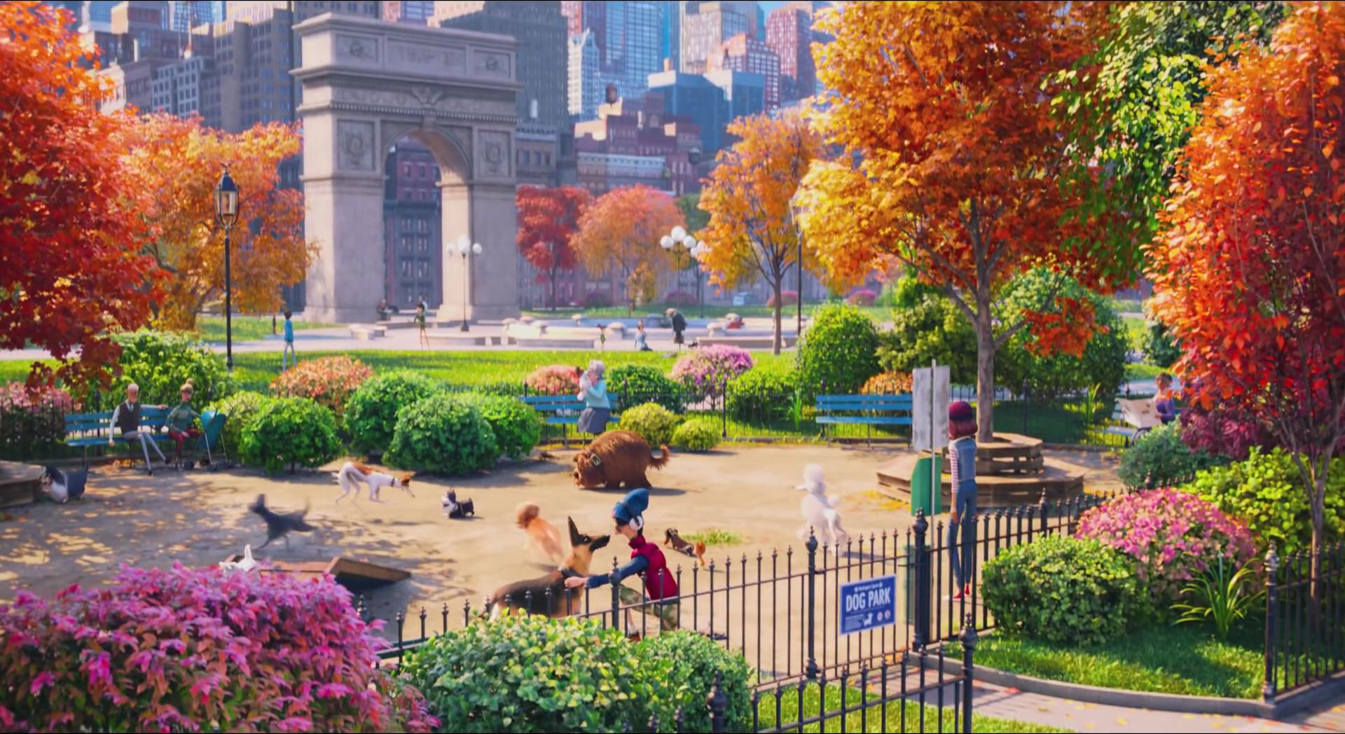 Washington Square Park The Secret Life Of Pets Wiki