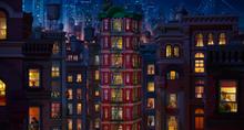 Many apartments