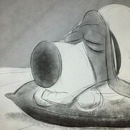 Sleeping pops art