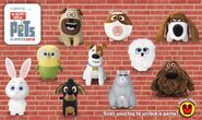 McDonalds Secret Life of Pets Toys