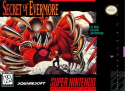 Secret Of Evermore BoxArt