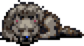 Sleeping Prehistoria Dog Sprite