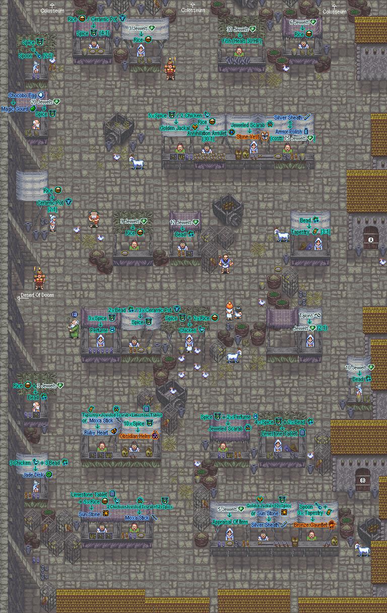 Nobilia Marketplace Map