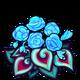 Blue Spiral Begonia