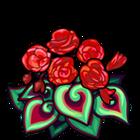 ScarletFire Spiral Begonia