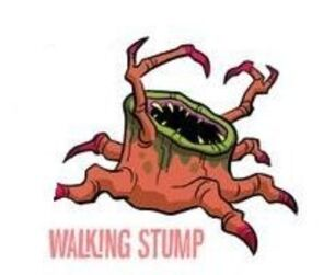 Walking stump