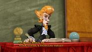Professor Geist on the table