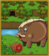 Boar card