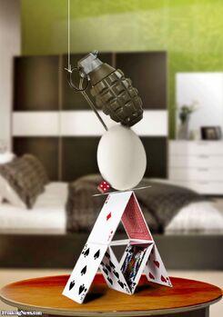 The dumb grenade origin