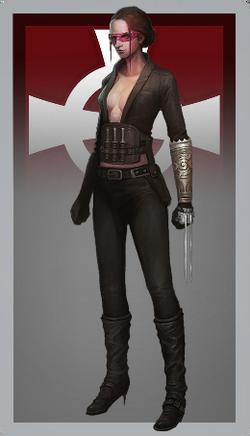 Female executioner