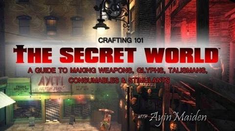 ★ The Secret World - Crafting Guide