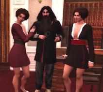 Stuart Sisters with Iain Gladstone