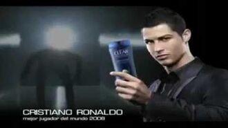 Cristiano Ronaldo Clear Men Comercial en Español