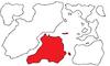 First Region Map Highlighting Moyen-Sud