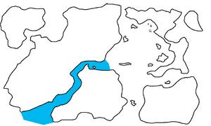 First Region Map Highlighting Moyen Serpent