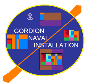 Insignia of Gordion Naval Installation