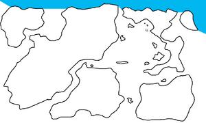 First Region Map Highlighting Extremytaric Ocean