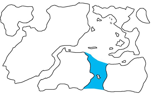 File:First Region Map Highlighting Archangelsk Strait.png