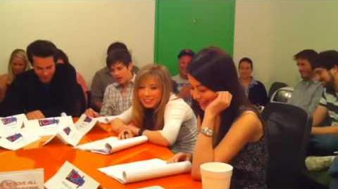 ICarly SCRIPT READING - SNEAK PEEK!!!