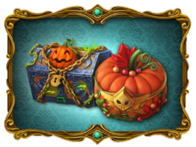 Gremlin Treasure and Halloween Charm Casket