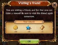 Visiting Friend Bonus