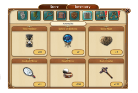 Inventory anomalies