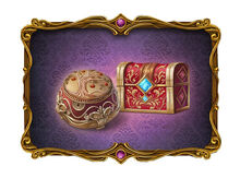Chest of Tales and Old Fairy Tale Casket