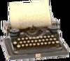 C0003 Mysterious Box i01 Typewriter