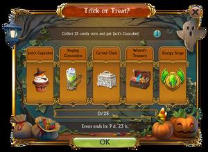 Trick or Treat Challenge