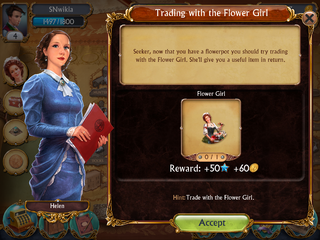 Tutorial Quest Flower Girl